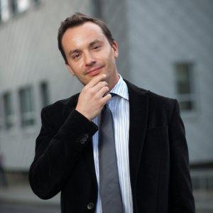 professor in business suit
